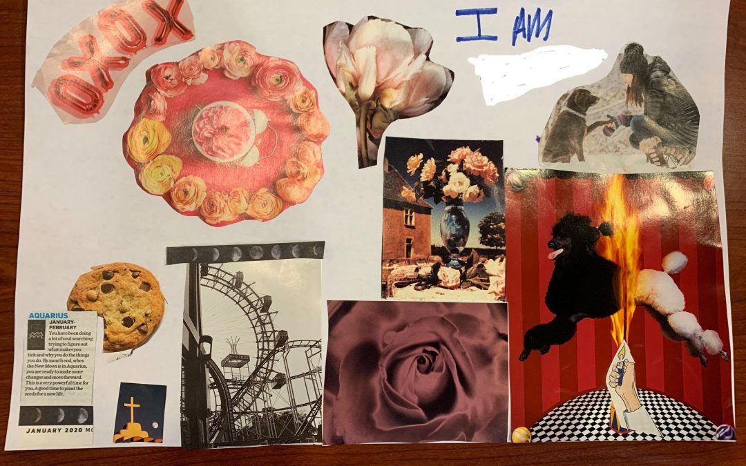 I am Jazz Readings and Collages