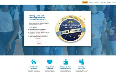 Donor provides this new website
