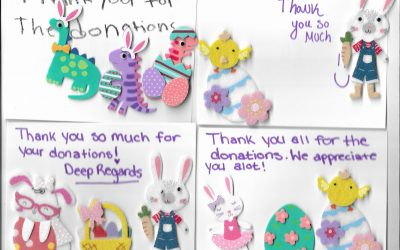 Easter donations and more!