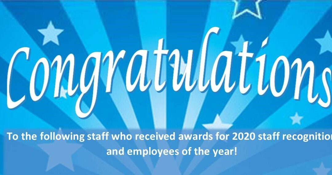 Employees of the year announced!