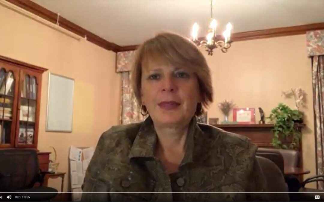 Thank you video from our Executive Director