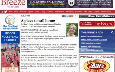 St. Mary's in the Valley Breeze newspaper
