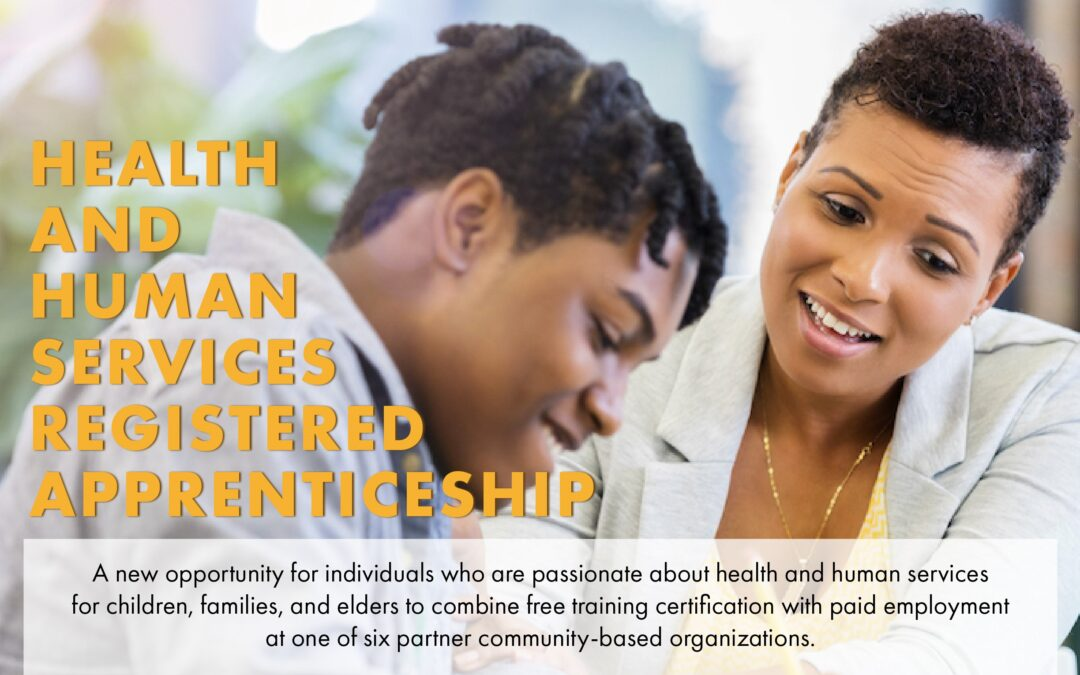 New health and human services apprenticeship program offered